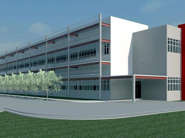 Centro de pesquisa do Boldrini terá 4 mil metros quadrados (Foto: Divulgação)