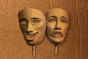 Máscara política (Foto: ÉPOCA)