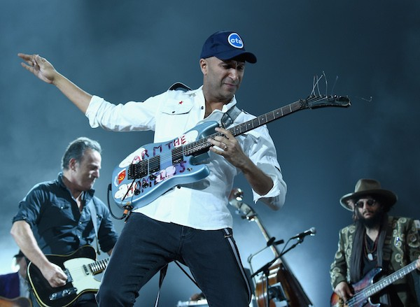 O guitarrista do Rage Against the Machine, Tom Morello (Foto: Getty Images)
