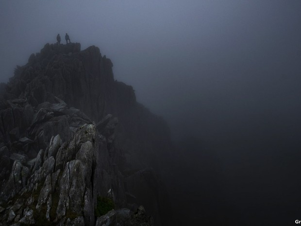"Montanha Tryfan, no País de Gales, foi retratada na foto vencedora da categoria ""Live the Adventure"", de Greg Whitton.   (Foto: Greg Whitton)"