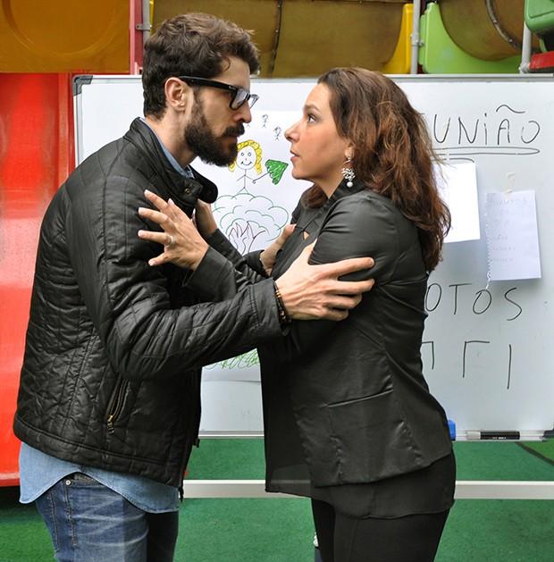 Renata Castro Barbosa e Robson Torinni (Foto: Henrique Fischer/ Divulgação)
