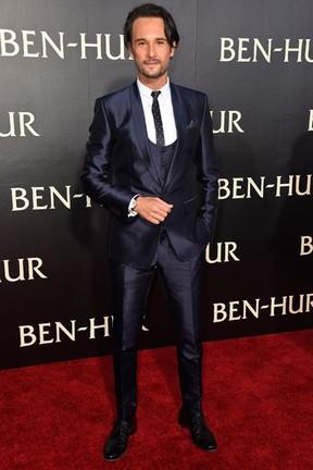 Rodrigo Santoro em première de filme em Los Angeles, nos Estados Unidos (Foto: Frazer Harrison/ Getty Images/ AFP)