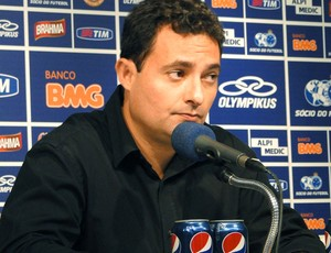 Alexandre Mattos diretor do Cruzeiro (Foto: Tarcísio Badaró)