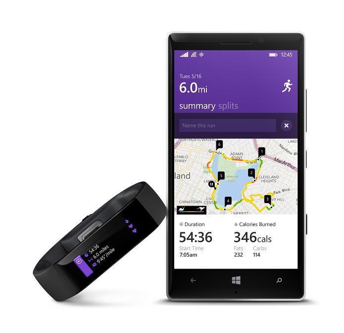 Microsoft lançou pulseira e app voltados para saúde (Foto: Divulgação)