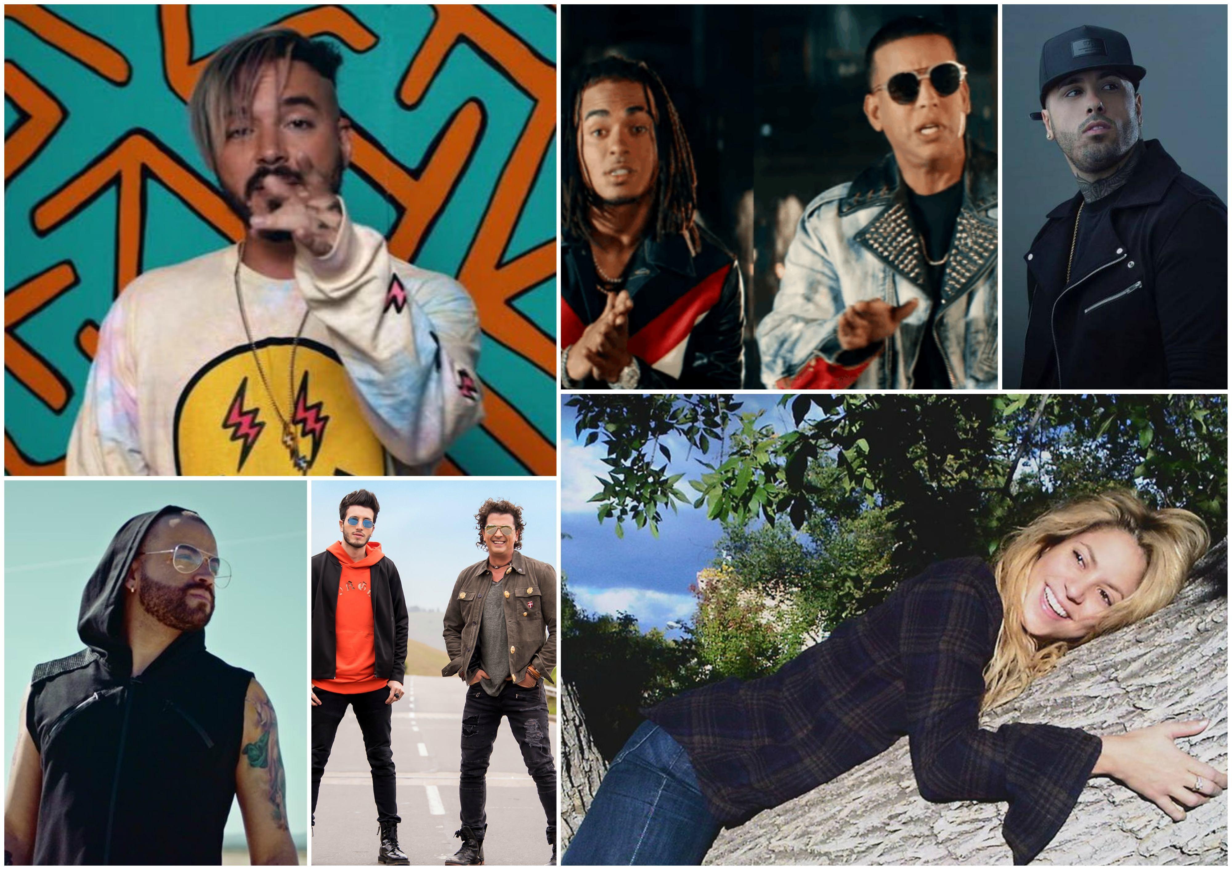 Artistas do reggaeton se destacam nas paradas mundiais aps o boom de 'Despacito' (Foto: Divulgao)