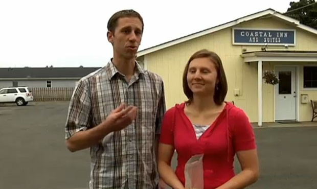 Josh e Kristin Buehler encontraram 'tesouro' em hotel que compraram. (Foto: Reprodução)