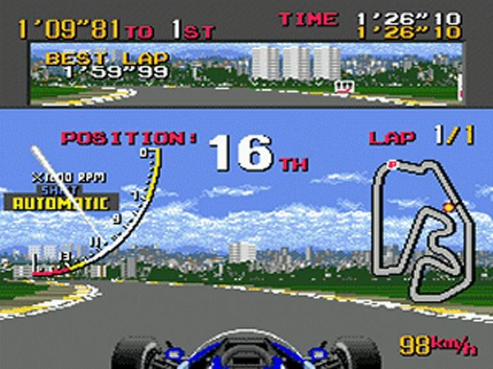 Ayrton Senna Super Monaco GP 2 (Foto: Reprodução/Old Games FTW)