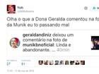 Ex-BBB Geralda é traída por corretor e chama Munik de 'Abandonante'
