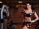 Ana Paula Minerato malha e avisa: 'Quero ficar mais gostosa ainda'