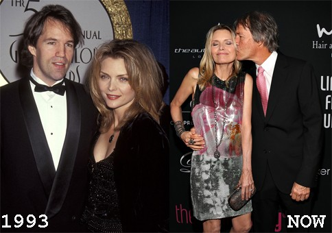 Michelle Pfeiffer & David E. Kelley, 1993 (Foto: .)
