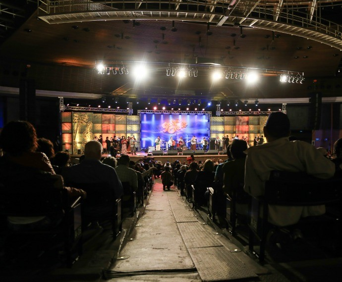 Galpão Crioulo lotou o Auditório Araújo Vianna (Foto: Bernardo Varoni/Divulgação)
