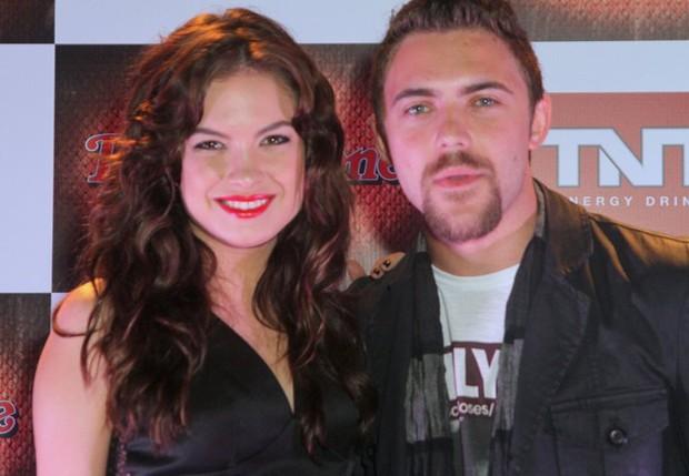Lua Blanco e o namorado, Fernando Roncato (Foto: Anderson Borde/AgNews)