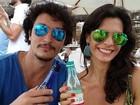 Namorado de Helena Ranaldi posta foto ao lado da atriz