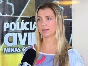 Angela Fellet , delegada de mulheres da Polícia Civil em Juiz de Fora (Foto: Reprodução/TV Integração)