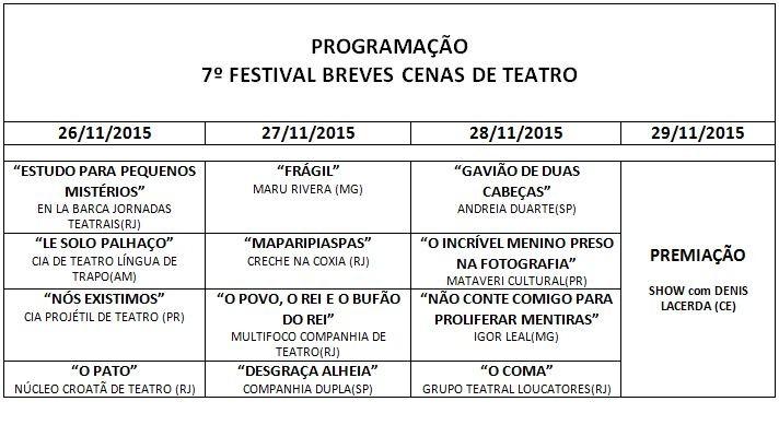 Confira a programação do 7º Festival Breves Cenas (Foto: Rede Amazônica)