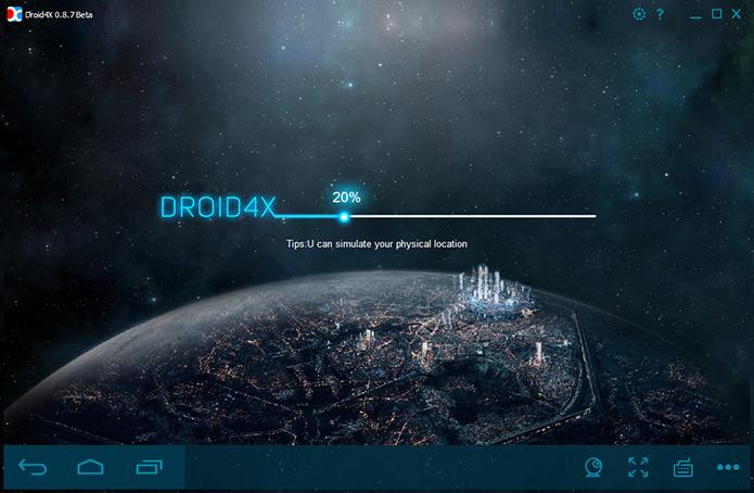 Droid4X não exige tanto do PC quanto seus concorrentes (Foto: Reprodução/Paulo Alves)
