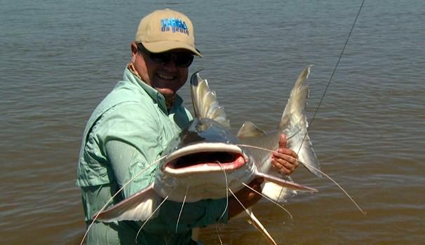 Terra da Gente deste sábado (27) tem pesca na região do Araguaia (Foto: Reprodução / EPTV)