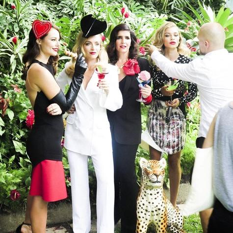 Edição de abril da Vogue vai celebrar os 50 anos da TV Globo (Foto: Divulgação)