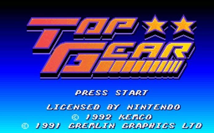 Top Gear é um dos jogos mais lembrados dos anos 90 (Foto: Reprodução / Dario Coutinho)