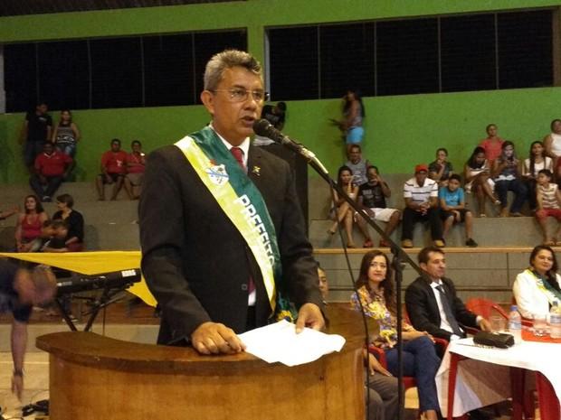 """Prefeito de Xapuri, Ubiraci Vasconcelos (PT-AC), conhecido como """"Bira"""", vai abrir mão de um ano de salário (Foto: Quésia Melo/G1)"""