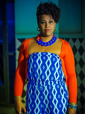 Lia, personagem de Lilian (Foto: Estevam Avellar/TV Globo)