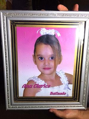 Ana Clarisse dos Santos Silva tinha 9 anos (Foto: Arquivo Pessoal)