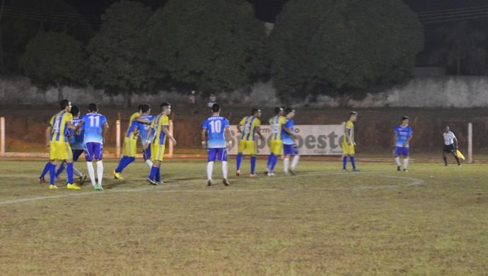 Espigão e Rolim de Moura, pela quinta rodada do Rondoniense Sub-20 (Foto: Rogério Aderbal)