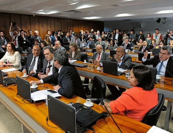 Comissão de Assuntos Economicos do Senado (Foto: Marcos Oliveira/Agência Senado)