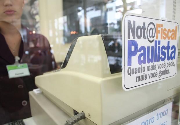 Nota Fiscal Paulista , programa do governo do estado de São Paulo (Foto: Reprodução/Facebook)