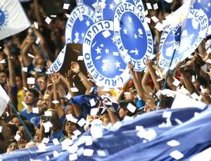 Torcida Cruzeiro (Foto: Marcelo Prates / Agência Estado)