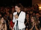 'Estamos bem e felizes', diz Fernanda Vasconcellos sobre o namoro