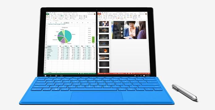 Surface Pro 4 pode ter até 16 GB de RAM (Foto: Divulgação)