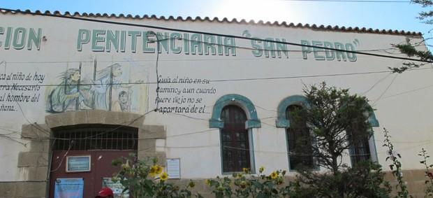 Penitenciária San Pedro, em Oruro (Foto: Leandro Canônico)