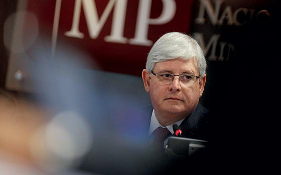 O procurador-geral da República,Rodrigo Janot (Foto:  Adriano Machado/REUTERS)