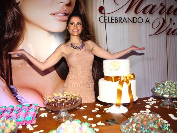 Ex-BBB Maria Melilo em sua festa de aniversário em São Paulo (Foto: Iwi Onodera/ EGO)