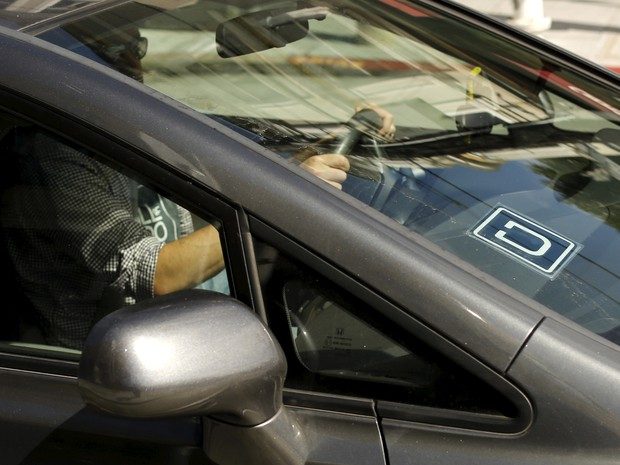Motorista do Uber dirige em São Francisco, nos Estados Unidos (Foto: REUTERS/Robert Galbraith)