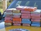 Pasta base de cocaína é achada em fundo falso de carro em Assis