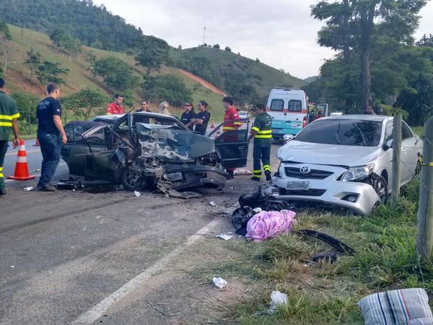 Jovem morreu em acidente no Sul do Espírito Santo (Foto: Débora Fernandes/ TV Gazeta)