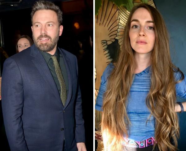 O ator Ben Affleck e a maquiadora Annamarie Tendler (Foto: Getty Images/Instagram)