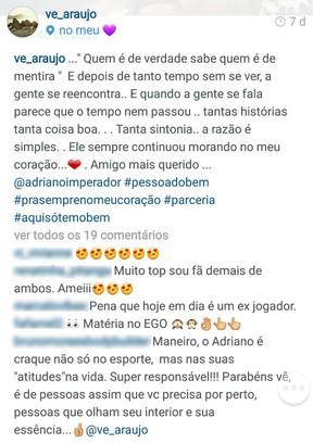 Verônica Araújo (Foto: Reprodução/Instagram)