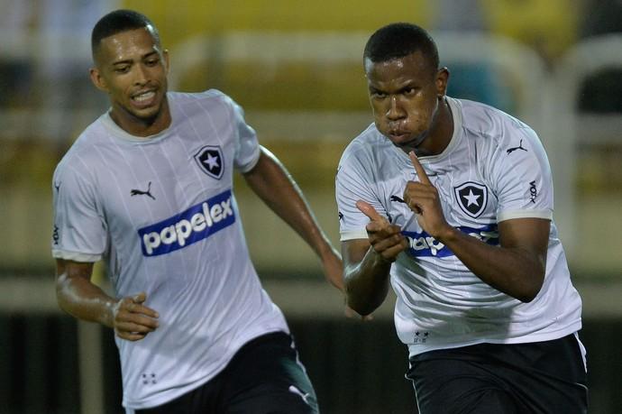 Ribamar gol Botafogo (Foto: PEDRO MARTINS/AGIF/ESTADÃO CONTEÚDO)