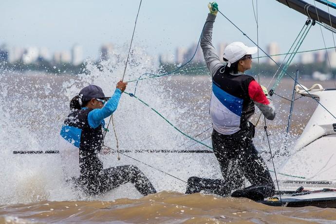 Rio Prata Mundial 49er vela Argentina (Foto: Matias Capizzano)