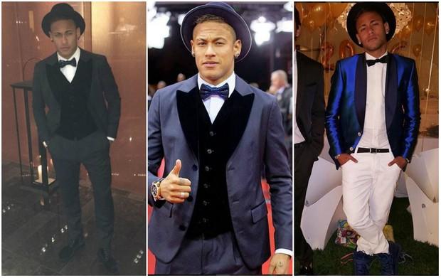 Neymar _chapéus (Foto: Reprodução/Instagram)