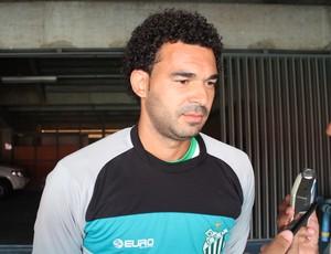 Thiago Braga goleiro Uberlândia Esporte Clube UEC (Foto: Lucas Papel)
