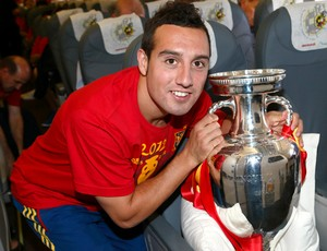 Santiago Cazorla Espanha (Foto: Getty Images)