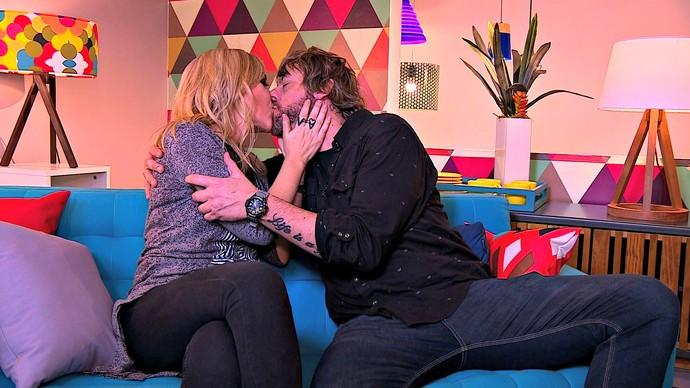 Mistura com Rodaika Alexandre Fetter Hique Gomez O Amor É Simples Noivo Terapia  (Foto: Reprodução/RBS TV)