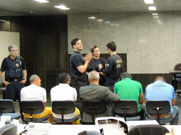Sentença dos acusados foi divulgada após dois dias de audiência (Foto: Katherine Coutinho/G1)