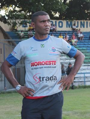 Marcão - Treinador do Piauí - Copa Piauí 2013 (Foto: Náyra Macêdo/GLOBOESPORTE.COM)
