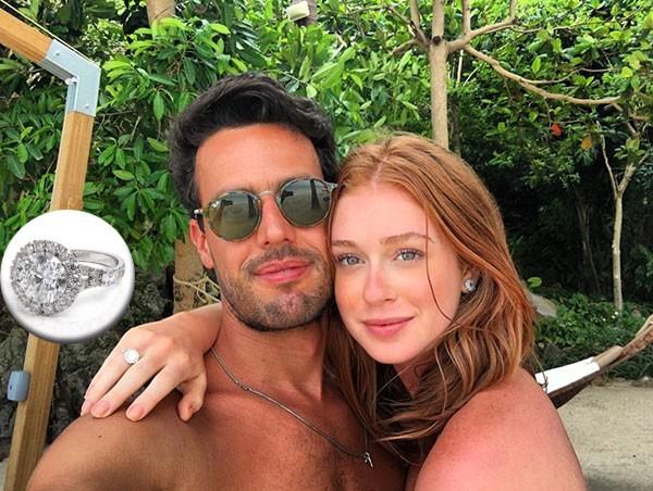 Marina Ruy Barbosa está noiva (Foto: Reprodução/Instagram/Divulgação)