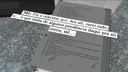 Peritos criminais recuperam trechos da conversa entre Michel Temer e Joesley Batista
